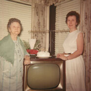 Lizzie and Ruth Borland on December 13, 1966
