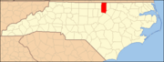 North Carolina Map Highlighting Granville County.PNG