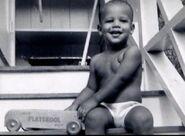 Barack Obama b1961- 3YO