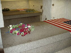 Graves of the Adams, Quincy, Massachusetts
