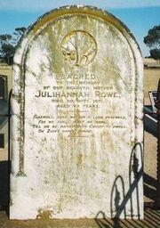 Julihannah rowe grave
