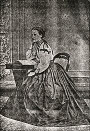 Eliza Knight (1844-1878) 2nd wife of George Burgess