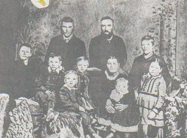Thomas brown turner & family