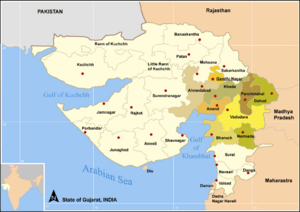 Map GujDist CentralEast