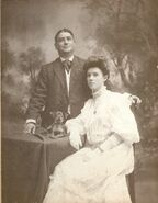 Annie Nagle & William Adams Wedding Photo 1906
