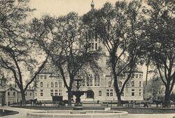 Bristol County Courthouse B&W