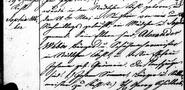 Sophia Weber (1815-1891) baptism in Kehl, Germany in 1815 (column 1)