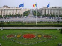 Bucuresti palatul parlamentului view