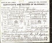 John Szczesny Bronislawa Oswola marriage