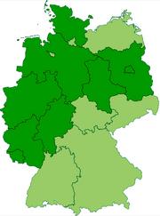 Germany former prussian lander
