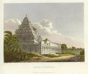 Kanchipuram engraving 1811
