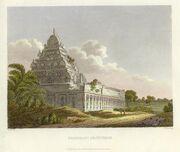 Kanchipuram engraving 1811