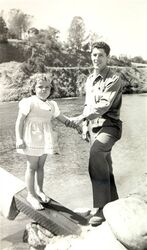 Stanley dunham with daughter ann