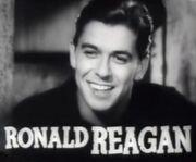 Ronald Reagan in Cowboy From Brooklyn trailer