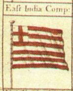British East India Company Flag from Lens