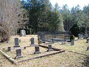 Callaway Family Cemetery near Rayle, Wilkes County, Georgia