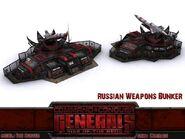 Russian weapons bunker dep