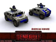 American Humvee Tow