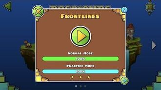 Geometry Dash World - Frontlines
