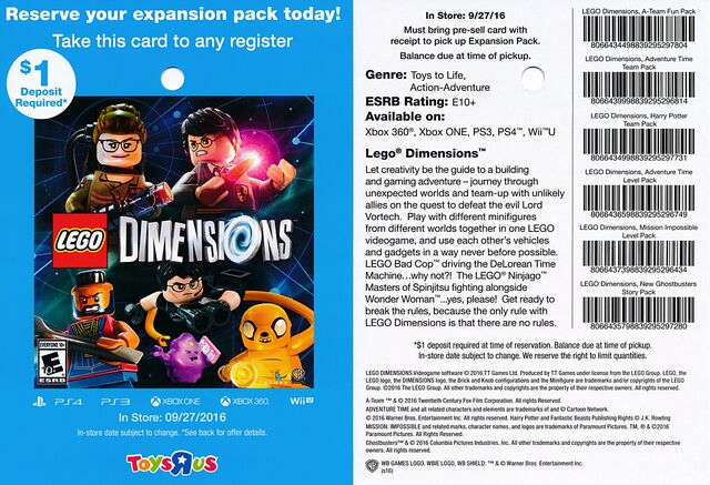 File:Lego Dimensions GB Story Pack Reservation Card Toys R Us.jpg