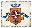 Ghost crest patch small