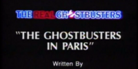 The Ghostbusters in Paris
