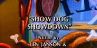 Show Dog Showdown