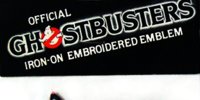 Official Ghostbusters Iron-On Embroidered Emblem
