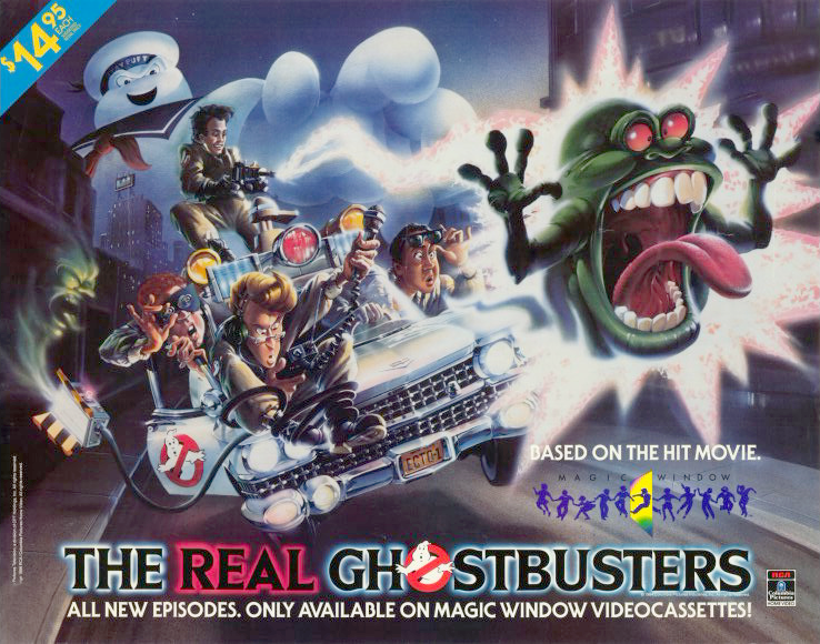 The Real Ghostbusters VHS (USA) | Ghostbusters Wiki ...