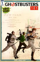 Ghostbusters101IssueOneRegularCover