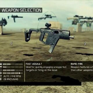 The Vector in Future Soldier.