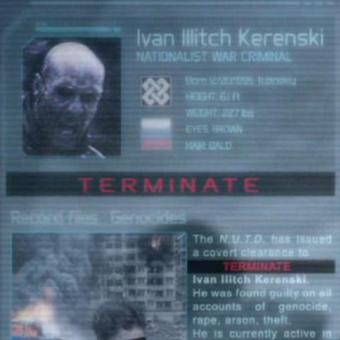 Kerenski's profile