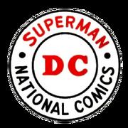 DC comics logo 1964, 1965