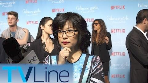Keiko Agena Gilmore Girls Red Carpet Premiere Interview TVLIne