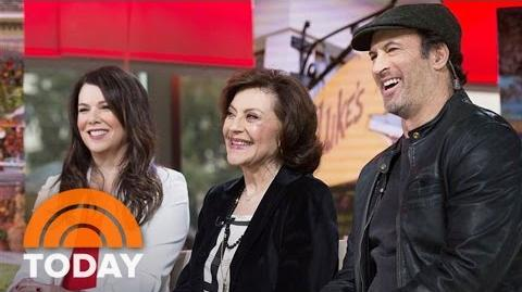 'Gilmore Girls' Cast Talks Revival, Last 4 Words, Alexis Bledel Phones In TODAY