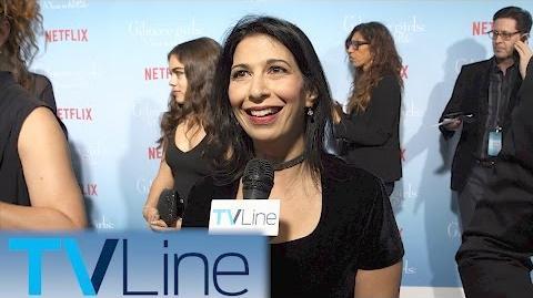 Rose Abdoo Gilmore Girls Red Carpet Premiere Interview TVLIne