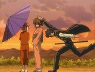 Kagura, Otae and Kondou Episode 28