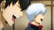 Hijikata and Gintoki Episode 316