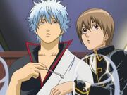 Gintoki and Sougo Episode 86