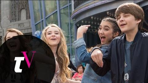 Rowan, Sabrina, and Their Friends Learn to Draw at Disney California Adventure Besties