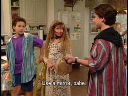 Use a mirror , Babe.