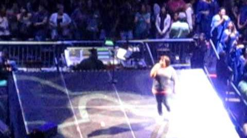 Glee Live! 2011 Boston- Ain't No Way