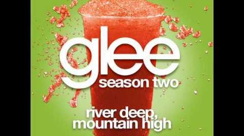 Glee - River Deep, Mountain High (LYRICS)