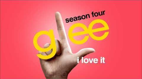 I Love It - Glee HD FULL STUDIO