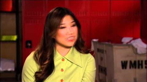 GLEE - A Moment of Glee Jenna Ushkowitz on...Filming the Pilot