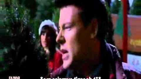 Glee - Rachel & Finn-Last Christmas HD.wmv