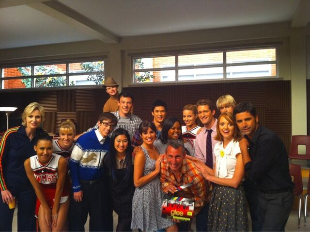 File:Glee cast with directors.jpg