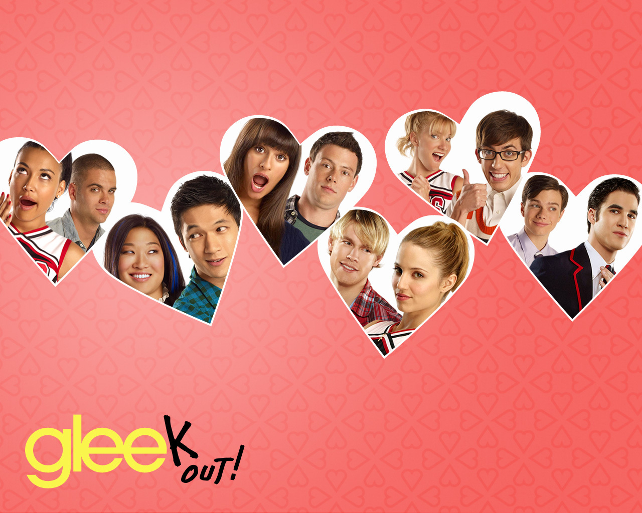 Glee dating games