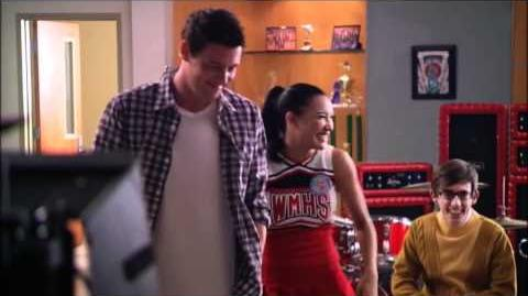 "GLEE - Behind the Scenes ""I Kissed A Girl"""