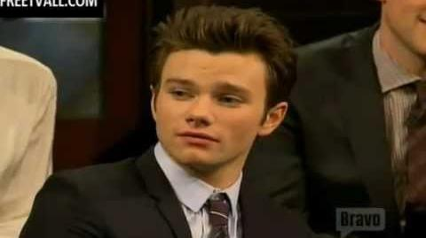 Glee Cast Q&A on Inside the Actors Studio